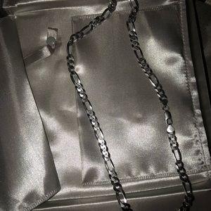 Zales men's neckless and bracelet